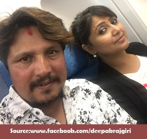 Deepak Raj Giri and Deepa Shree Niraula in Canada For Their 15 Days Program