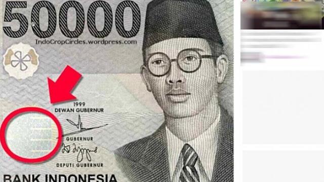 Jika Diperhatikan, Ada Objek Tersembunyi di Tiap Uang Kertas Rupiah. Berikut Penjelasanya!