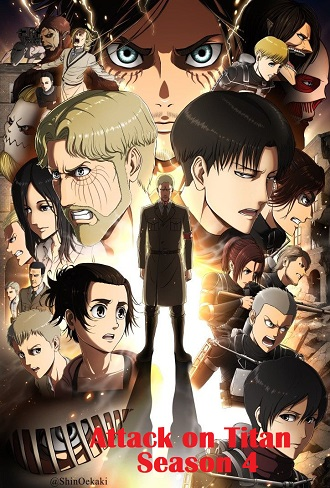 Attack on Titan Season 4 Complete Download 480p & 720p All Episode [English Dubbed]