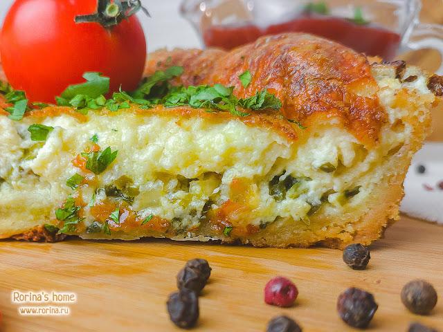 Мини-киш с луком: рецепт  пошагово