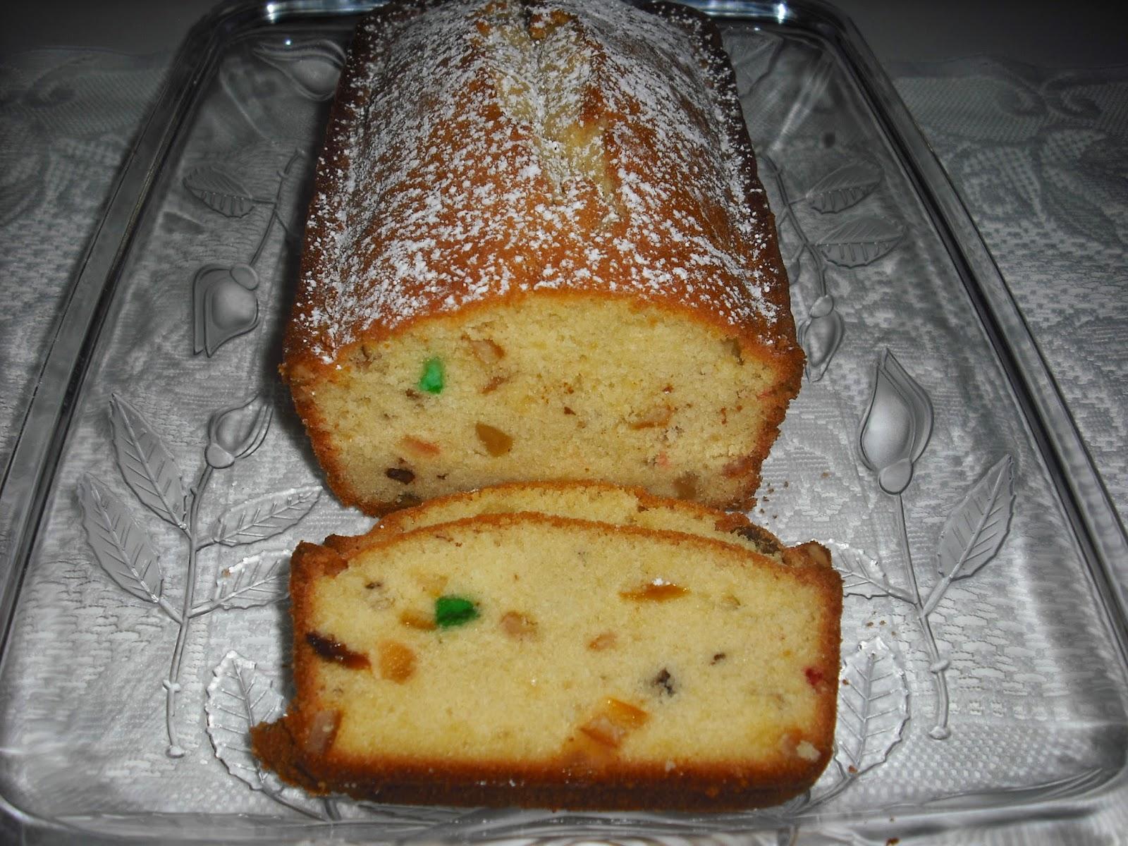 Recipe Marketing Fruit Pound Cake