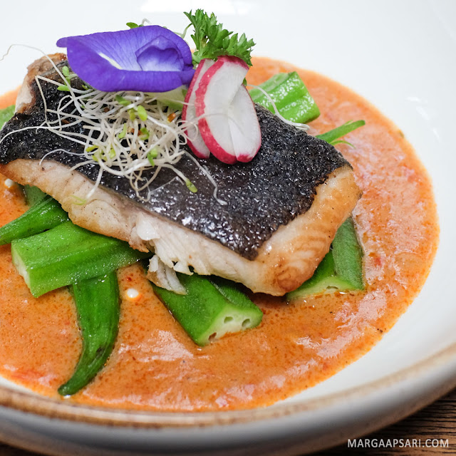 Ikan Cod Bumbu Curry di Blue Jasmine