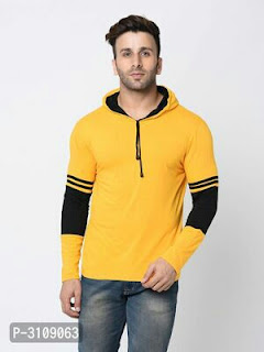 Cotton Hooded T-Shirt