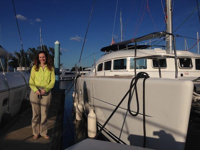 Lagoon 380 sailing catamaran