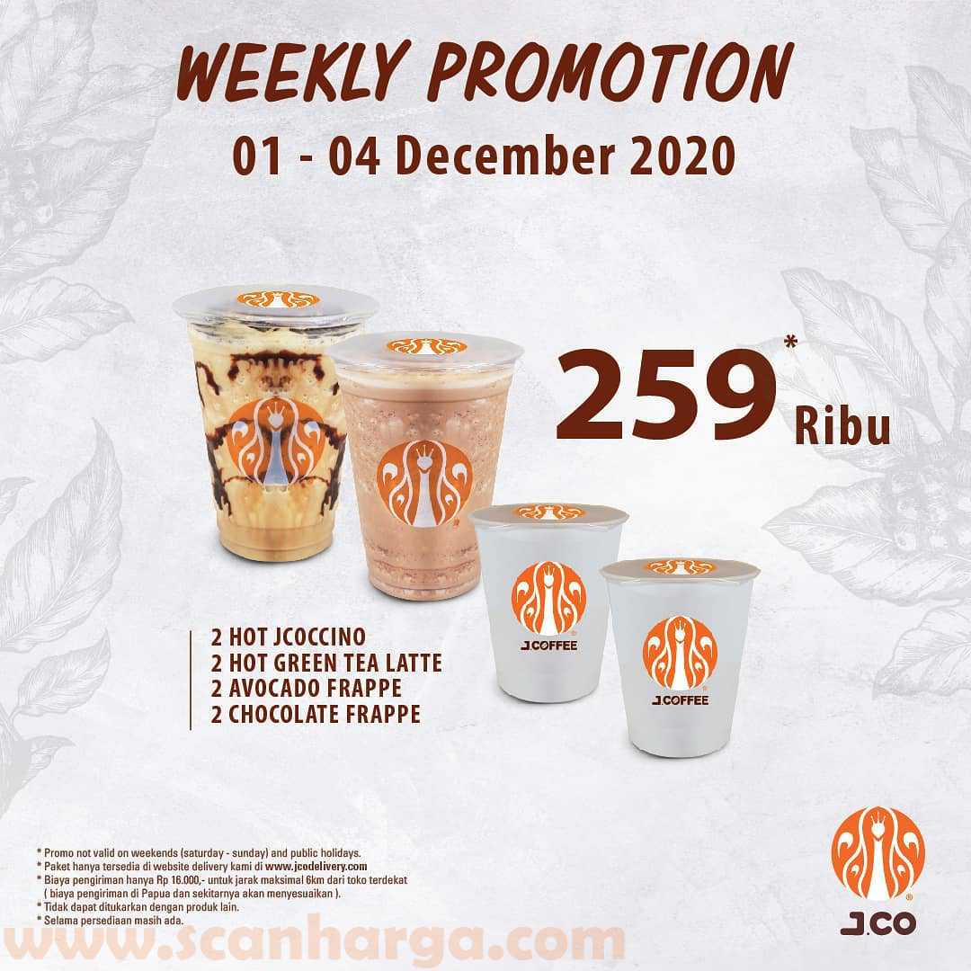 Promo Early JCO Weekly Promotion