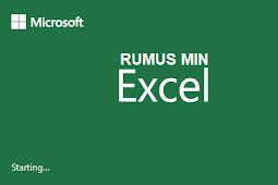 Rumus Min Excel Dan Contohnya