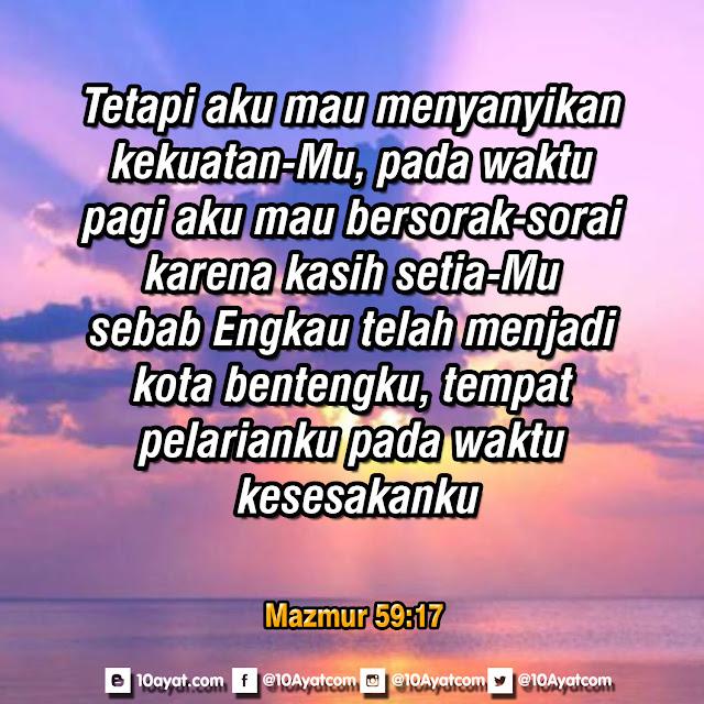 Mazmur 59:17