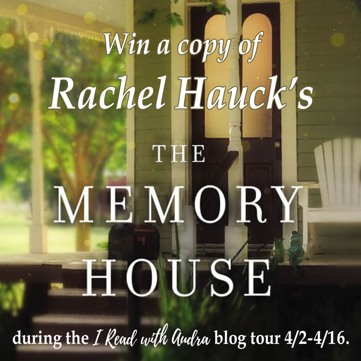 THE MEMORY HOUSE Blog Tour