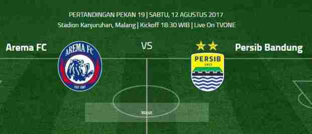 Prediksi Arema FC vs Persib Bandung