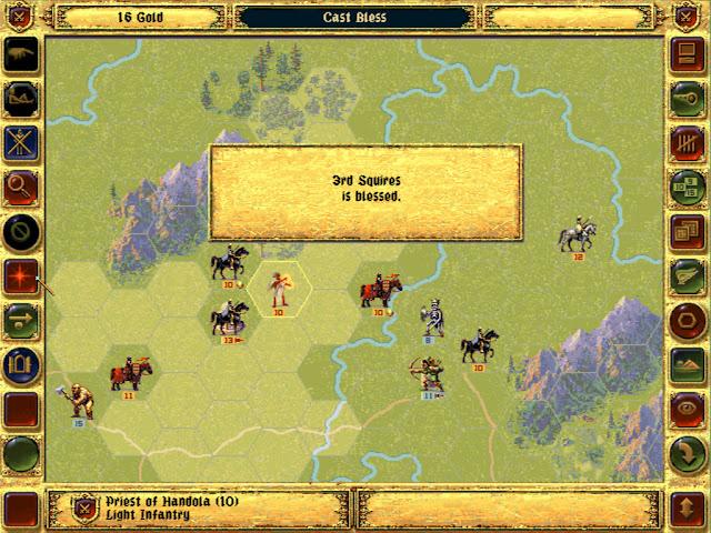 Priest of Handola Hero | Fantasy General Screenshot