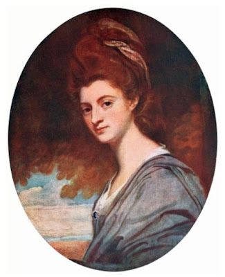Lady Craven by Romney from Romney by R Davies (1914)