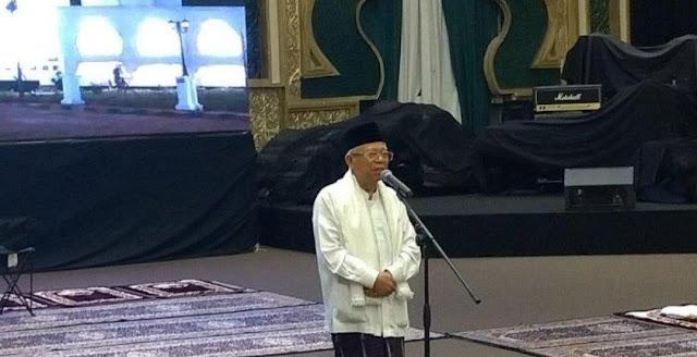 KH Maruf Amin Ajak Semua Pihak Teladani Sikap Toleran Para Pendiri Bangsa