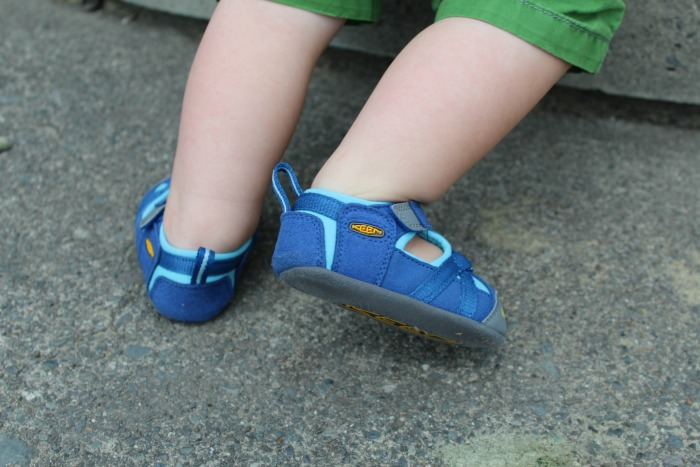 Kid's KEEN shoes are perfect for any outdoor adventure!