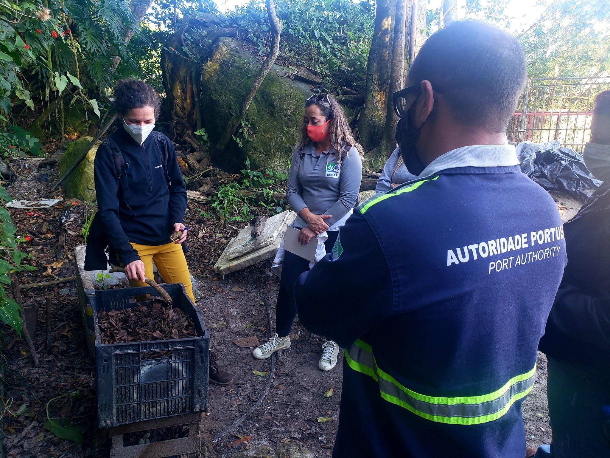 Educação Ambiental leva sustentabilidade às comunidades do litoral paranaense