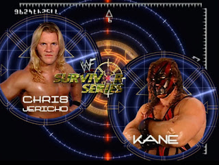 WWE / WWF Survivor Series 2000 - Chris Jericho faced Kane