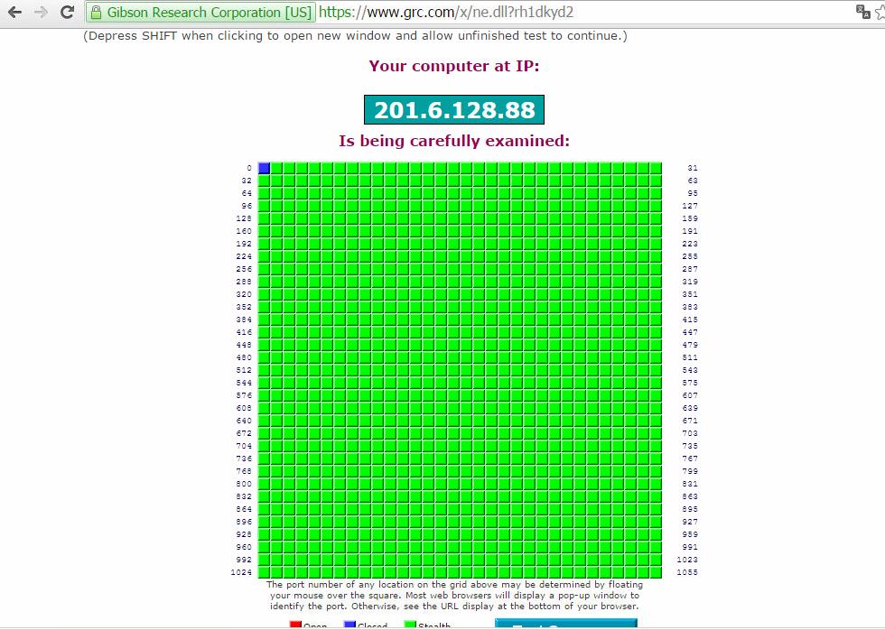 NET VIRTUA bloqueia todas as conexões de entrada