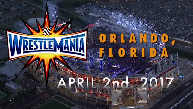 WrestleMania 33 Date Time