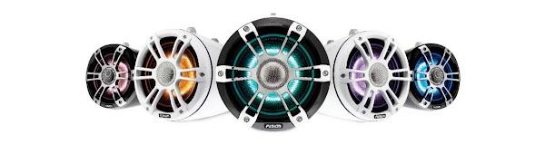 Garmin apresenta os novos altifalantes Wake Tower Signature Series 3 da Fusion