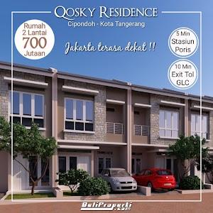 Qosky Residence ! Rumah 2 Lantai 700 Jutaan Terdekat Jakarta
