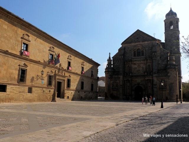 Parador de turismo y Sacra Capilla del Salvador, Ubeda