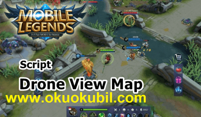 Mobile Legends 1.4.52 Script Dron Map Güncel Hilesi İndir 2020