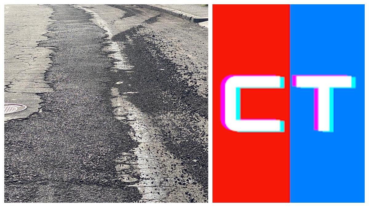 Strade asfaltate e precarie nel II municipio di Catania
