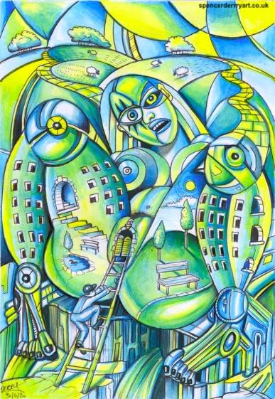 Buy Original Art on Artfinder by Artist Spencer J. derry
