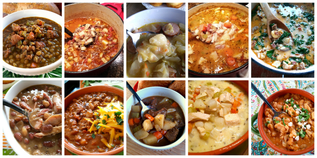 SOUPS & STEW: THE 10 MUST-HAVE FALL RECIPES