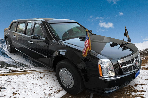 Mobil Anti Peluru Tercanggih di Dunia
