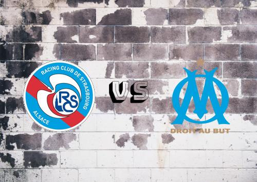 Strasbourg vs Olympique Marseille  Resumen