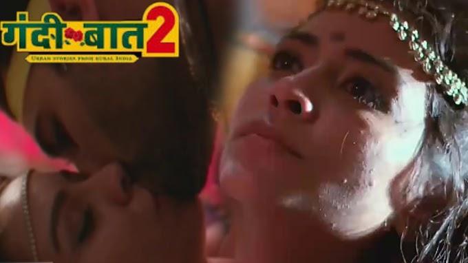 Ruby Bharaj, Navneet Kaur hard sex kissing scene - Gandi baat s02ep04 (2019) HD 720p