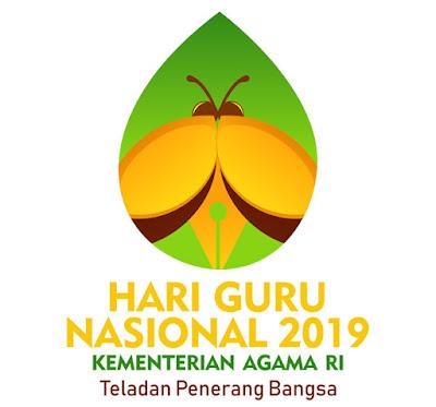 Logo Hari Guru Nasional Tahun 2019