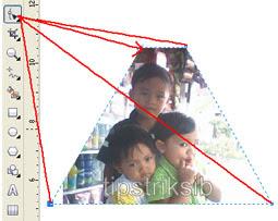 Cara Memotong Foto Dan Gambar Di Coreldraw