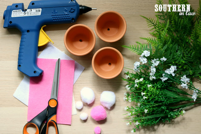 Easy Easter Craft Ideas for Kids - DIY Curious Bunny Pots