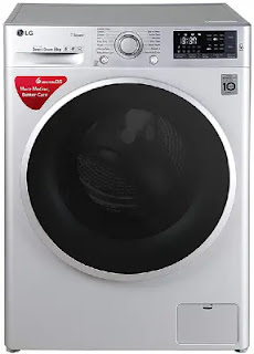 LG 8 Kg Inverter Wi-Fi Fully Automatic Front Loading Washing Machine (FHT1408SWL)