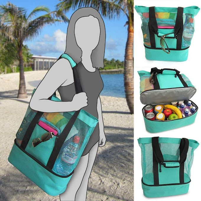AMAZON - Multi-Function Picnic Beach Camping Insulation Bag 80% off Till Aug 31