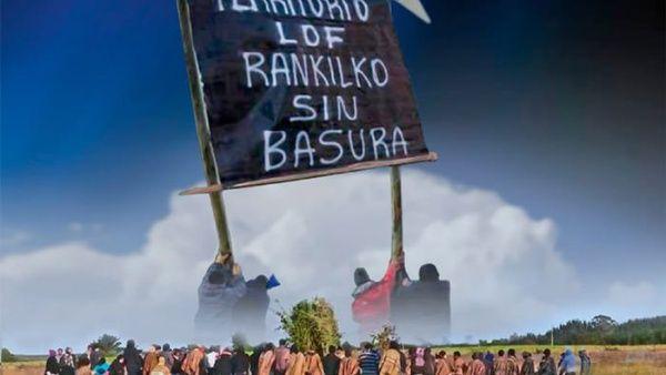 Marchan en Chile contra basural en territorio Mapuche