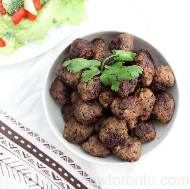 moroccan spiced meatball breville
