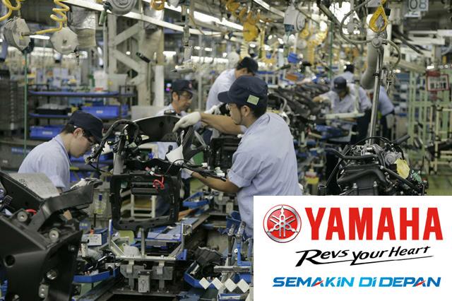 Lowongan Kerja Operator Produksi PT Yamaha Indonesia Motor Manufacturing