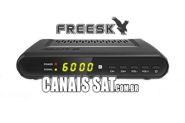Atualização Freesky Max S V1.09.22844 - 07/06/2021