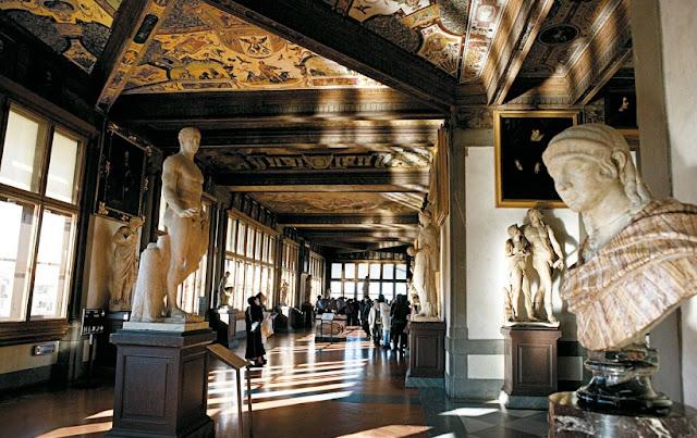 Tour Galeria Uffizi