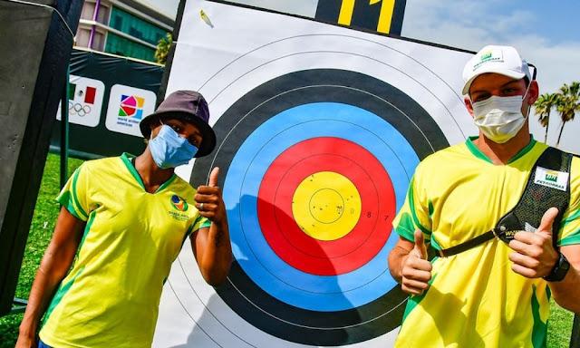Brasil tiro com arco dupla mista