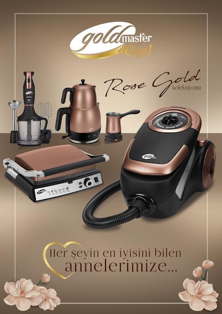 Goldmaster'dan Anneler Gününe Özel Rose-Gold Koleksiyonu