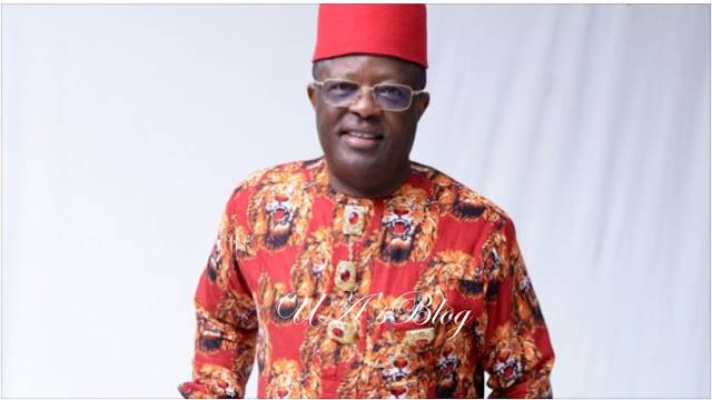 Finally Umahi begs Anyim, Egwu, NASS members for forgiveness