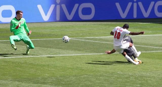 """Αγγλία-Κροατία 1-0: Χρύσος Στέρλινγκ και """"Λιοντάρια"""" για την πρώτη θέση"""