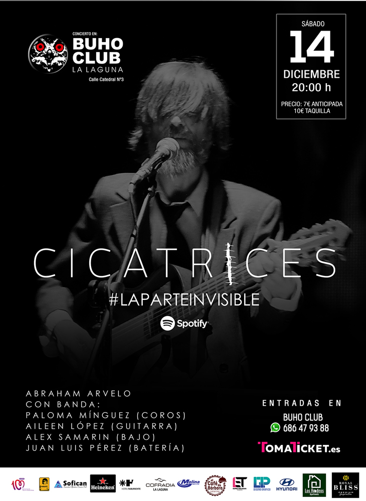 'Cicatrices, la parte invisible' en el Búho Club