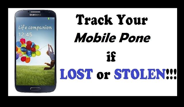 trace lost mobile