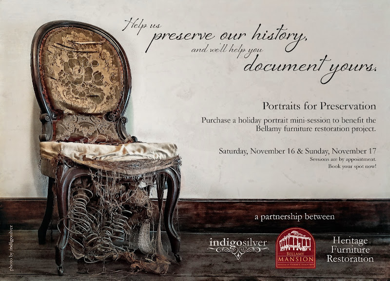 Special Mini-Session Event: Portraits for Preservation | Wilmington NC family portraits