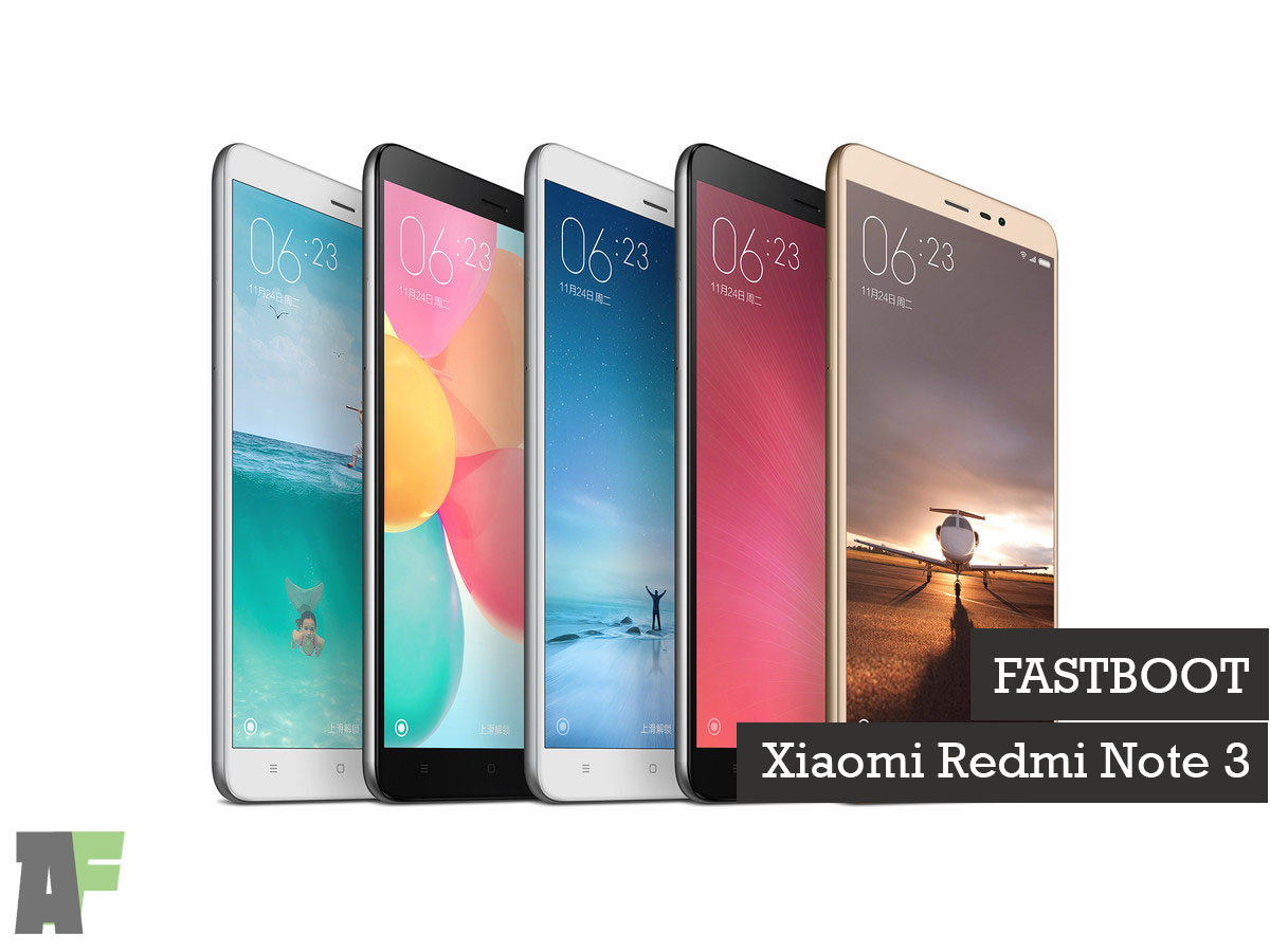 How to Fastboot on Xiaomi Redmi Note 3 MediaTek version | ANDROIDFOOT
