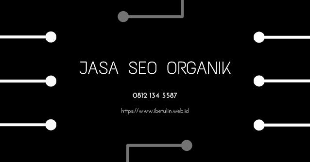 Jasa SEO Organik
